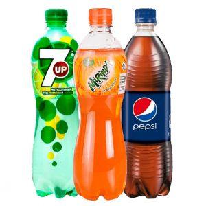 Pepsi 0.5L/Mirinda 0.5L/ 7UP 0.5L